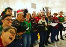 Christmas performance 2018 - John Lewis, Cardiff